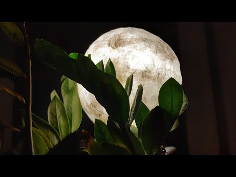 how to make moon lamp, moon lamp with tissue paper, moon light, DIY CRAFT, lamp