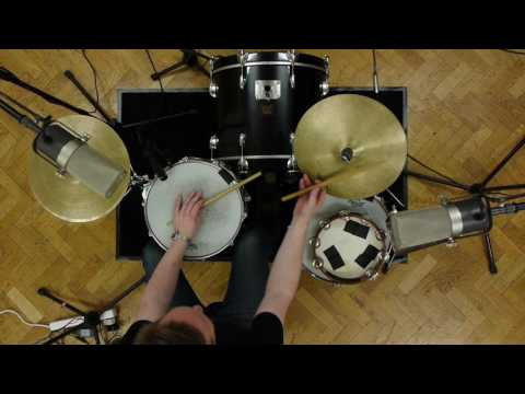 How to play New Orleans second line 'Rebirth' drum groove - Pat Levett drum lesson