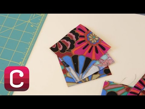 Cutting Basic Squares, Triangles and Diamonds with Liza Lucy | Creativebug