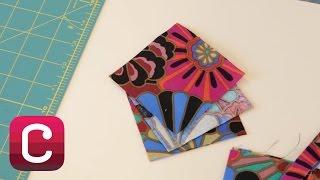 Cutting Basic Squares, Triangles and Diamonds with Liza Lucy   Creativebug