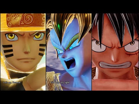 Jump Force - All Ultimate Transformations! | Jump Force Beta