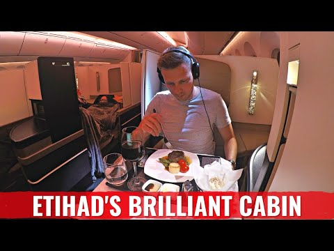 REVIEW: LUXURIOUS ETIHAD 787 Dreamliner Business Class