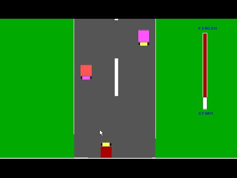 CAR RACE GAME DEVELOPED IN C LANGUAGE USING GRAPHICS.H in TURBO C (cse 1st year,2013 project)