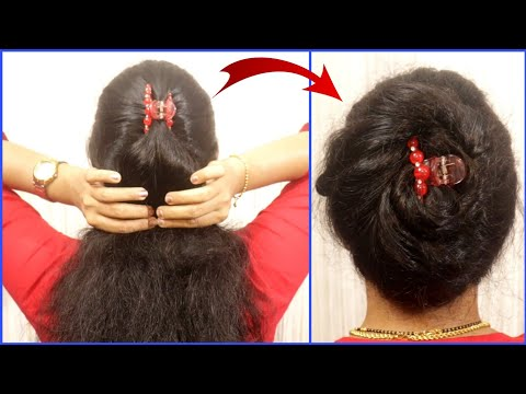 simple-easy-clutcher-hairstyle-tutorials-for-girls-|-hair-style-girl-|-hairstyles-for-long-hair
