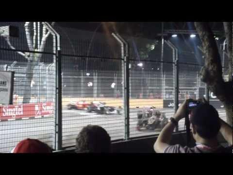 2012 Formula 1 Singapore Grand Prix 3/3 - (23rd Sep - Grand Prix)