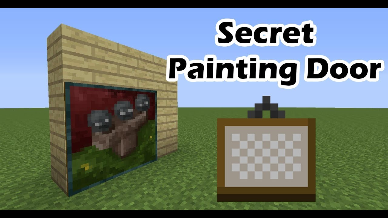 How To Make A Invisible Door In Minecraft Xbox One