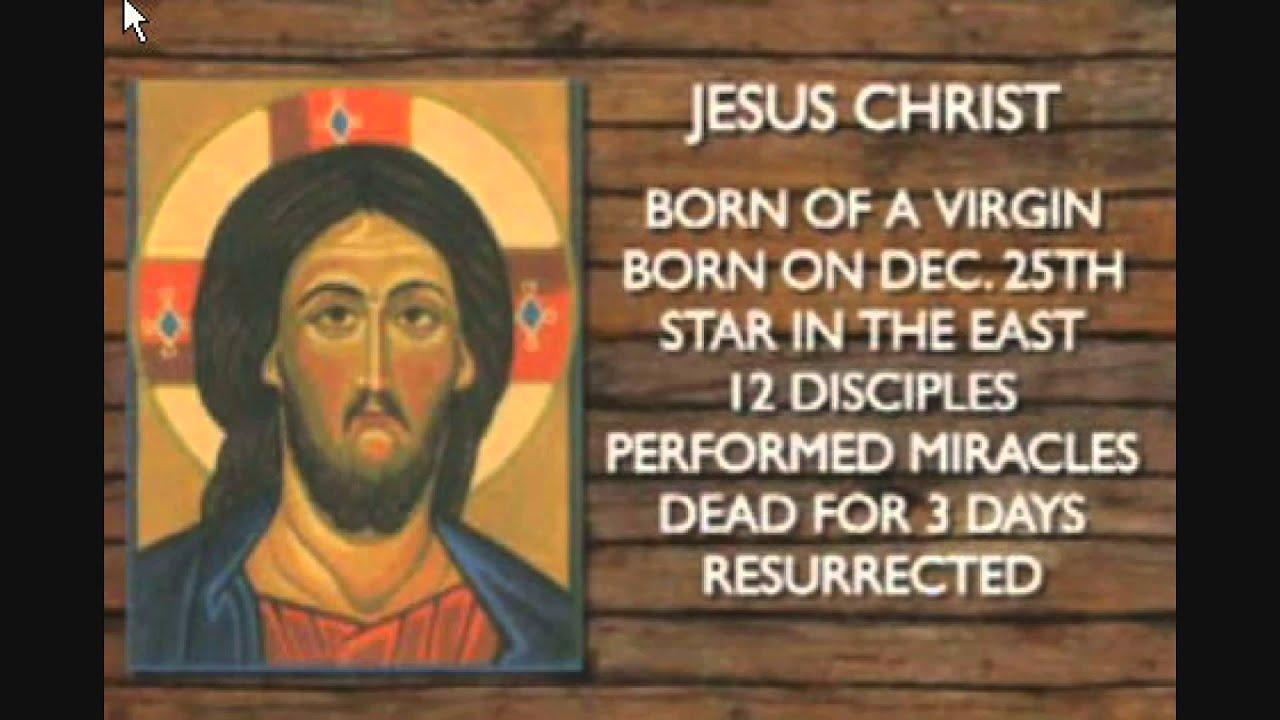 jesus vs horus zeitgeist the movie exposed youtube