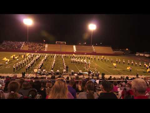 Smiths Station High School Band Competition, October 14, 2017