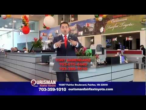 Toyota 2012 Commercial Ourisman Fairfax Toyota Youtube