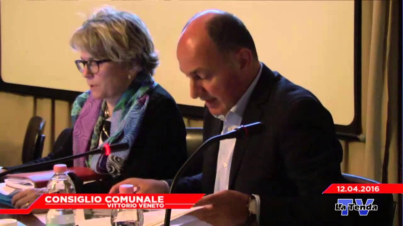 CONSIGLIO COMUNALE VITTORIO VENETO - Seduta del 12.04.2016