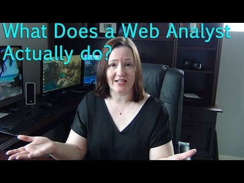 What Does a Web Analyst Do?