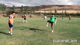 FC Ararat Yerevan training (24.09.2016)