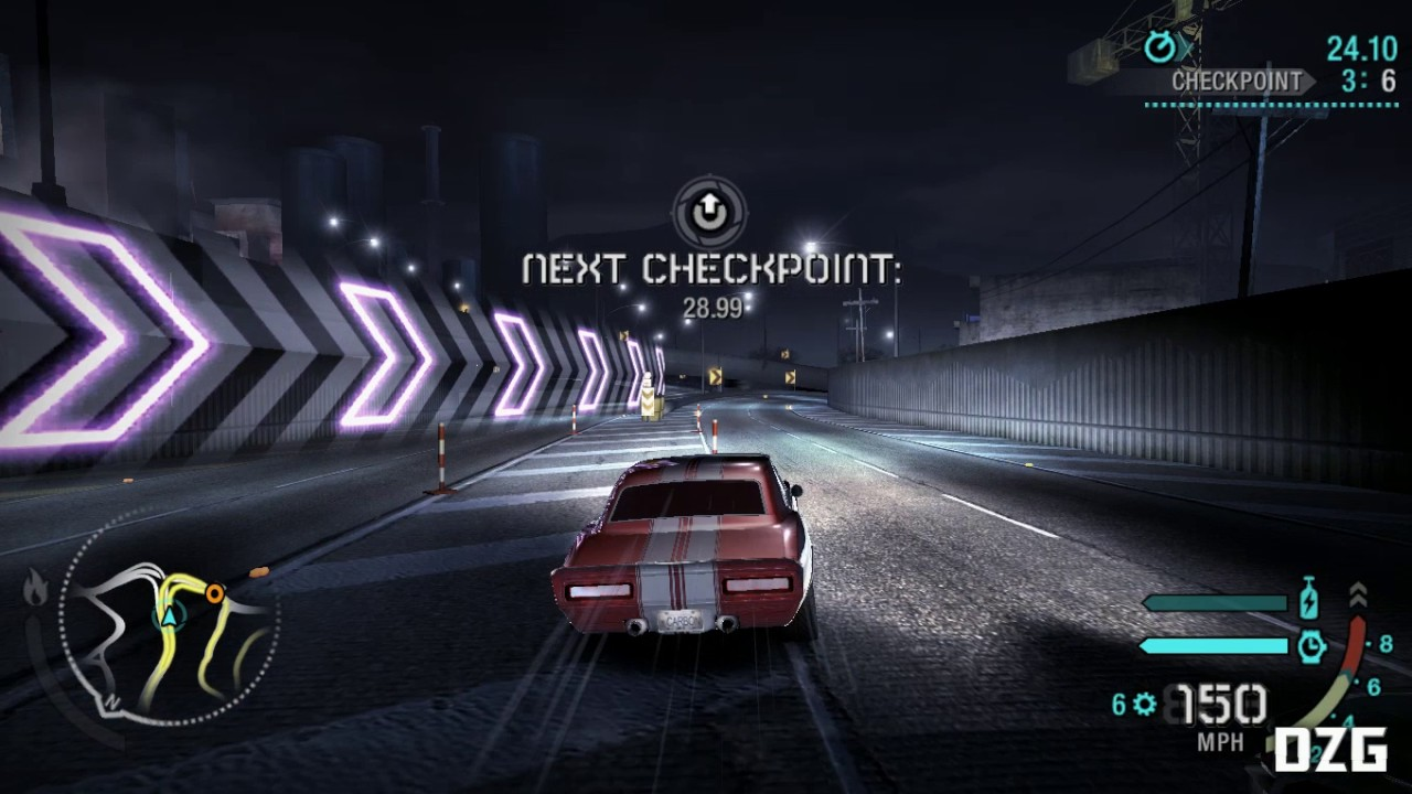 Need For Speed: Carbon Widescreen Fix Gameplay (HD)