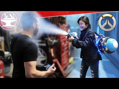 Does Mei's ICE BLASTER Work? OVERWATCH BUILD