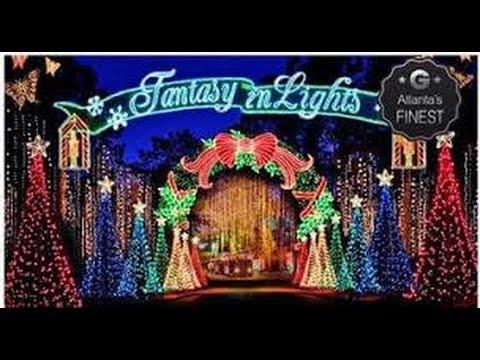 Callaway Gardens: Fantasy in Lights 2015