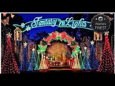 Callaway Gardens Fantasy In Lights 2015 Youtube