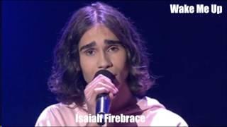 Isaiah Firebrace (me) and Jessica Maulboy Sing Wake Me Up