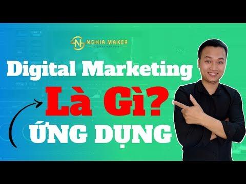 🔴Digital Marketing là gì? 3 Ứng Dụng LỚN của Digital Marketing
