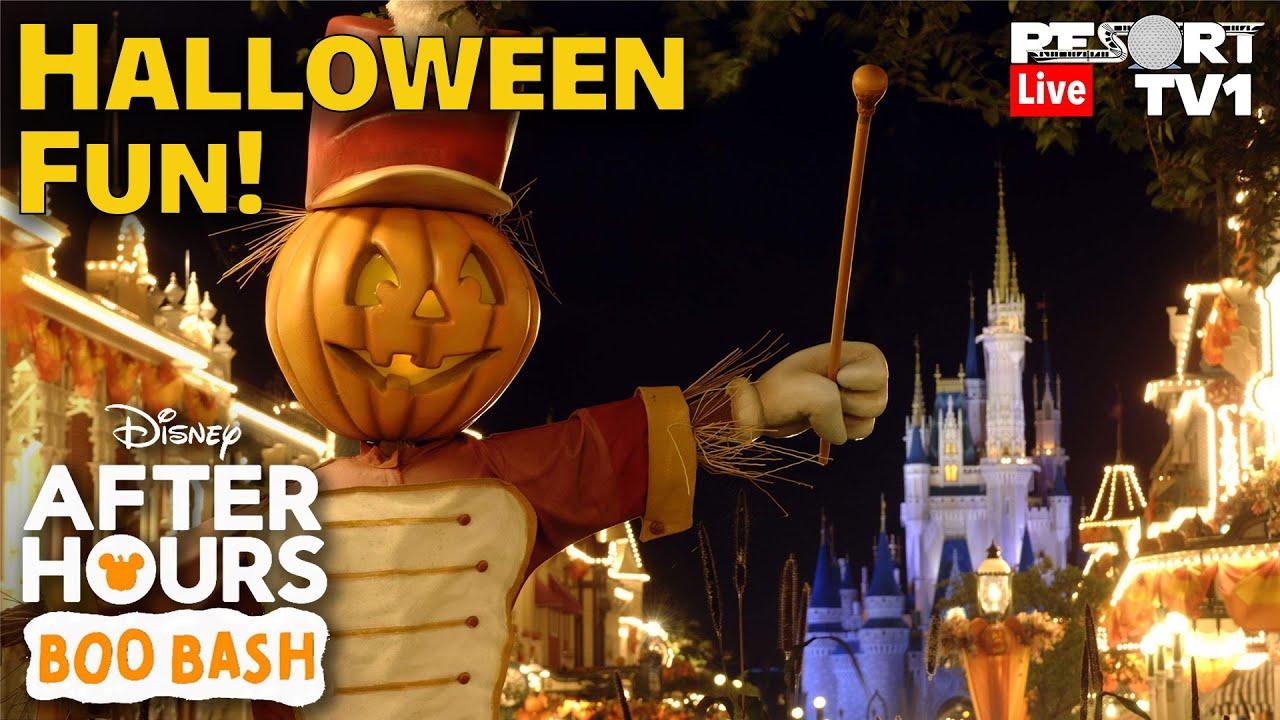 Download 🔴Live: Halloween Fun at Disney's Boo Bash - Magic Kingdom - Walt Disney World Live Stream - 9-17-21