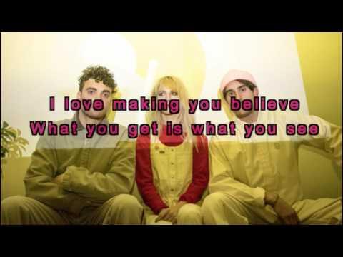 Paramore - Fake Happy (lyrics)