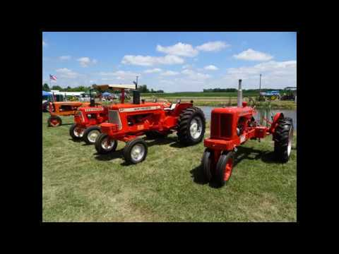 Prairie Days Antique Tractor Show Drone Video - Bible Grove, IL