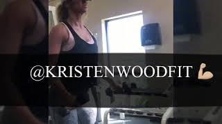 kristen wood fitness shoulderback workout get fit workout routine