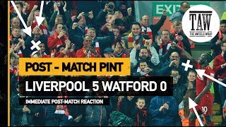 Baixar Liverpool 5 Watford 0 | Post Match Pint