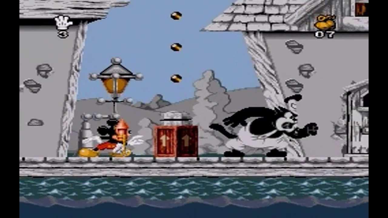 Mickey Mania SNES part1