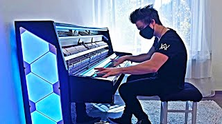 Download lagu ALAN WALKER - ON MY WAY | QUARANTINE PIANO COVER