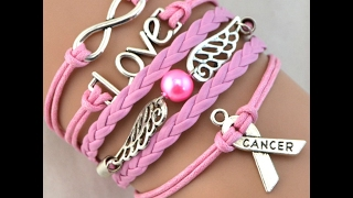Help Us Beat Cancer Free Cancer Awareness Celet