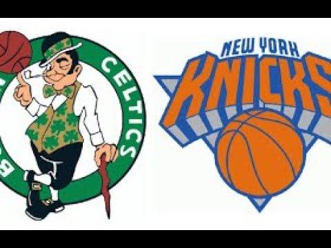 NBA 2K18 Boston Celtics vs New York Knicks