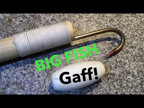 Big Fish Gaff , How To Make A Chin Gaff