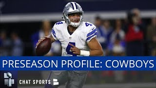 NFL Preseason Profile: Dallas Cowboys - Training Camp, Schedule, & Rumors