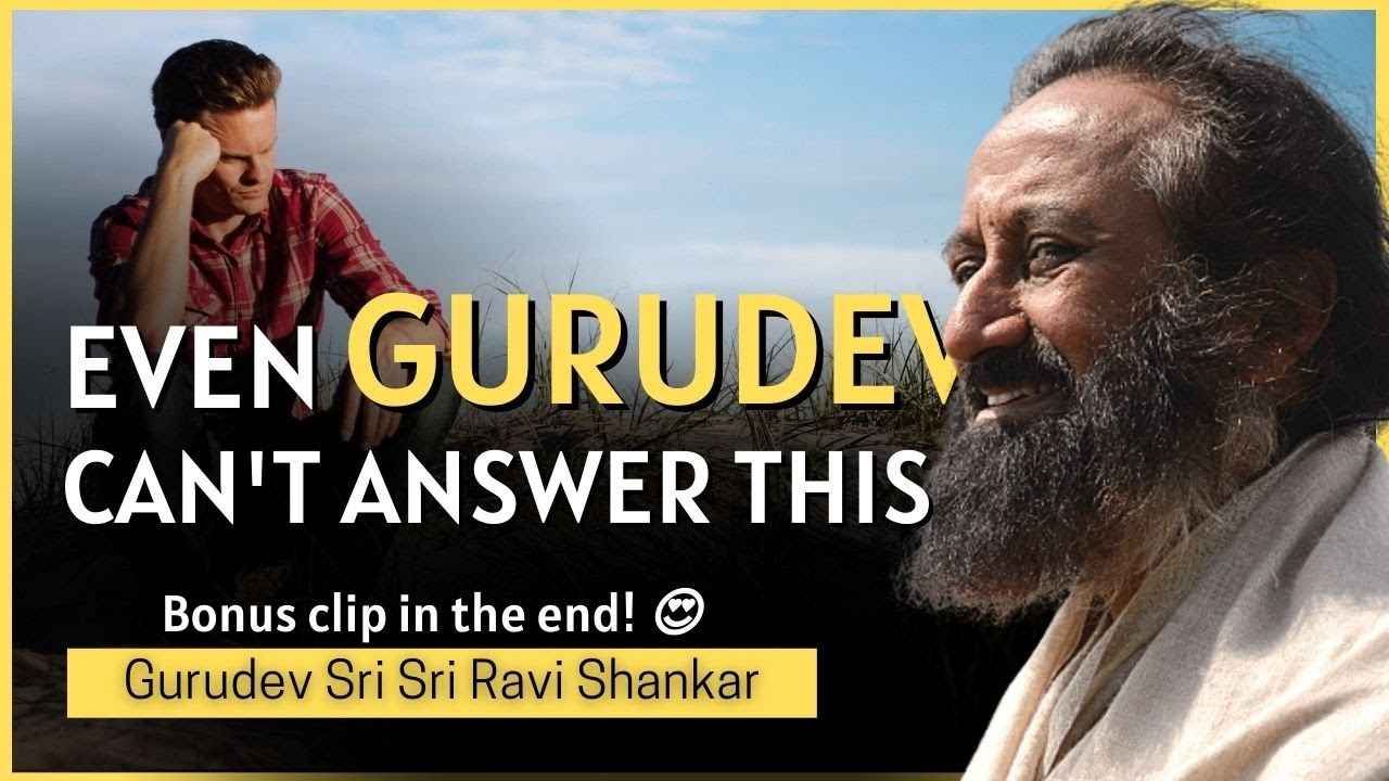 Even Gurudev Can't Answer This Question 😮