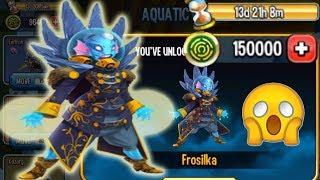 Monster Legends Aquatic Feast Maze review cost Frosilka Eeltron Kozorg Brynhilda Ihtiander