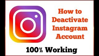 [GUIDES] 📷 How to Deactivate Instagram Account Easily