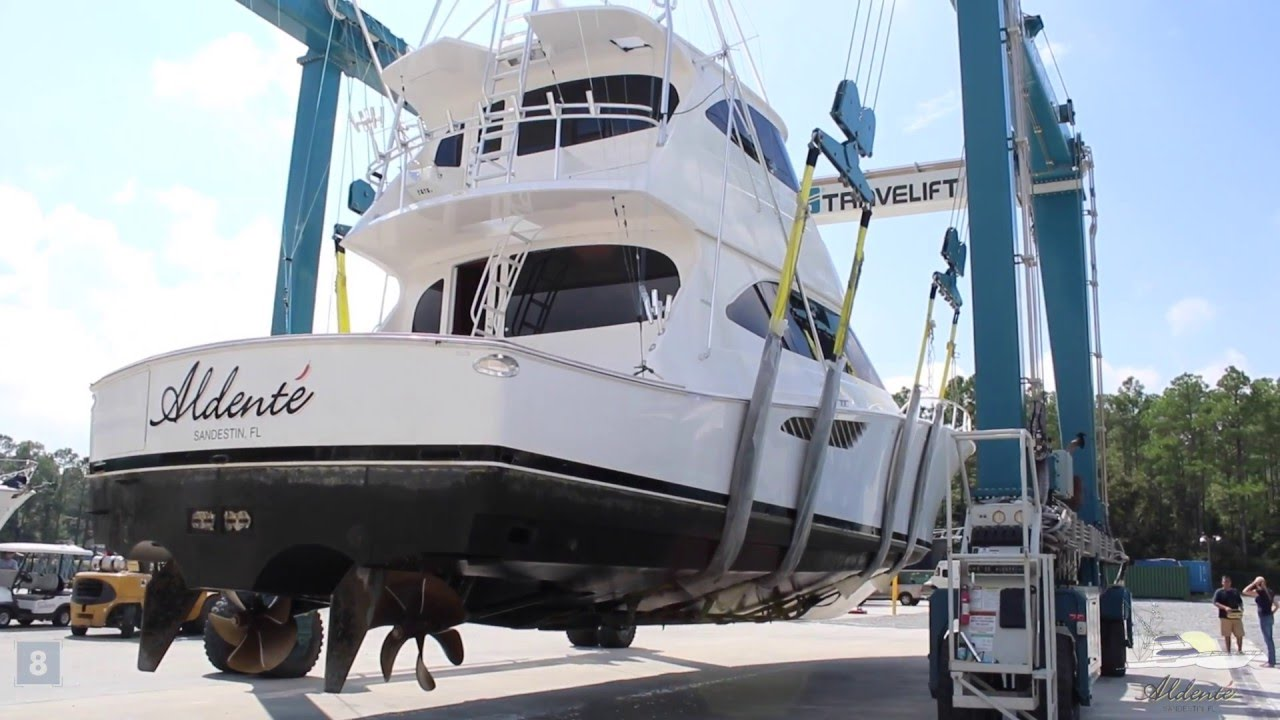Moving A Sport Fishing Boat Aldente Youtube