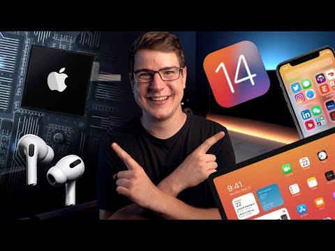 Erster Eindruck: iOS 14, AirPods Update & Apple Prozessoren im Mac! (WWDC 2020) – felixba