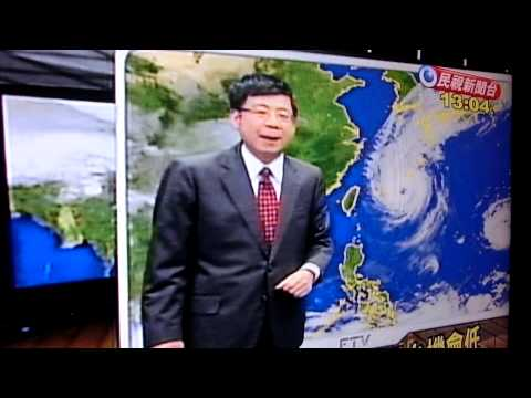 Taipei,  Taiwan - Today's News on Typhoon .... 06 October 2013
