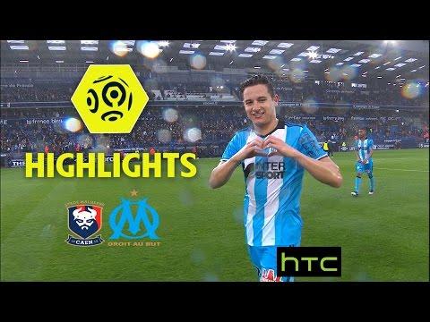 SM Caen - Olympique de Marseille (1-5) - Highlights - (SMC - OM) / 2016-17