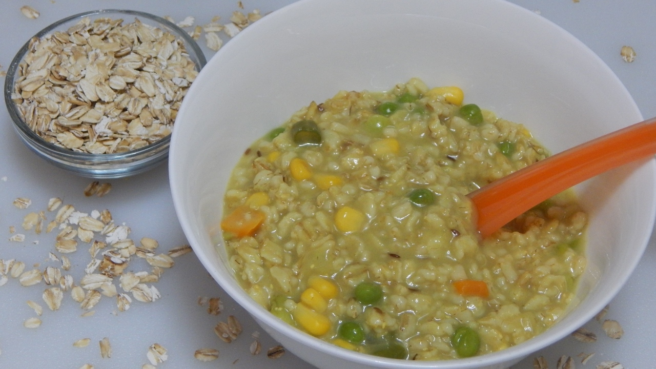 Baby Food Recipes With Oats