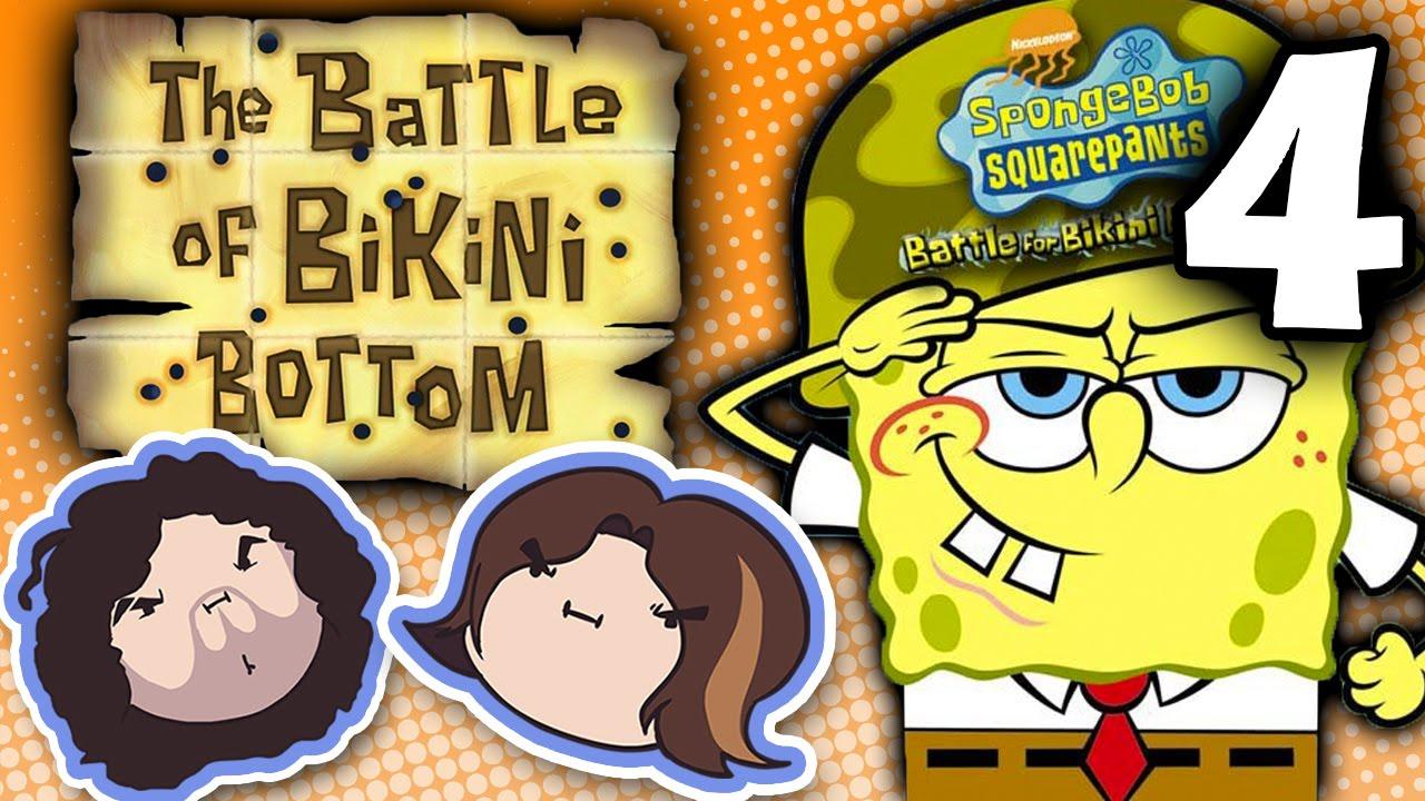 Spongebob Squarepants The Battle For Bikini Bottom Hitting The Fire Part 4 Game Grumps