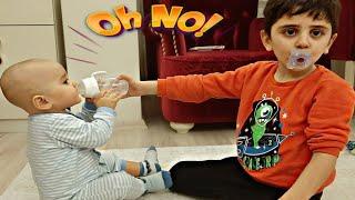 هوما خافت أختها كثيرا !!!