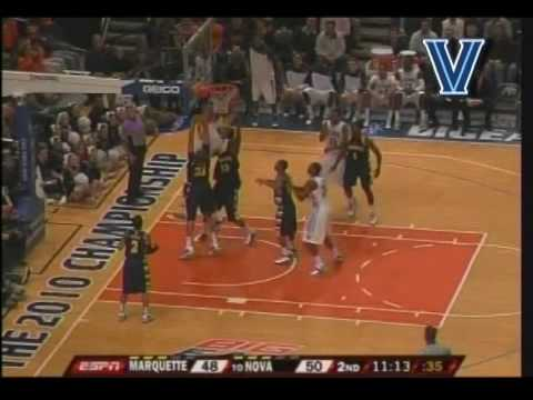 Villanova Basketball vs Marquette March 11, 2010