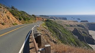 California Coast Motorcycle Ride: Gualala to Westport