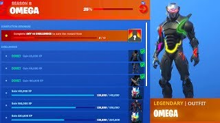 How To UNLOCK NEW MAX OMEGA SKIN CHALLENGES in Fortnite..