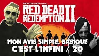 RED DEAD REDEMPTION 2 MON AVIS : C'EST L'INFINI /20 ! TEST FR