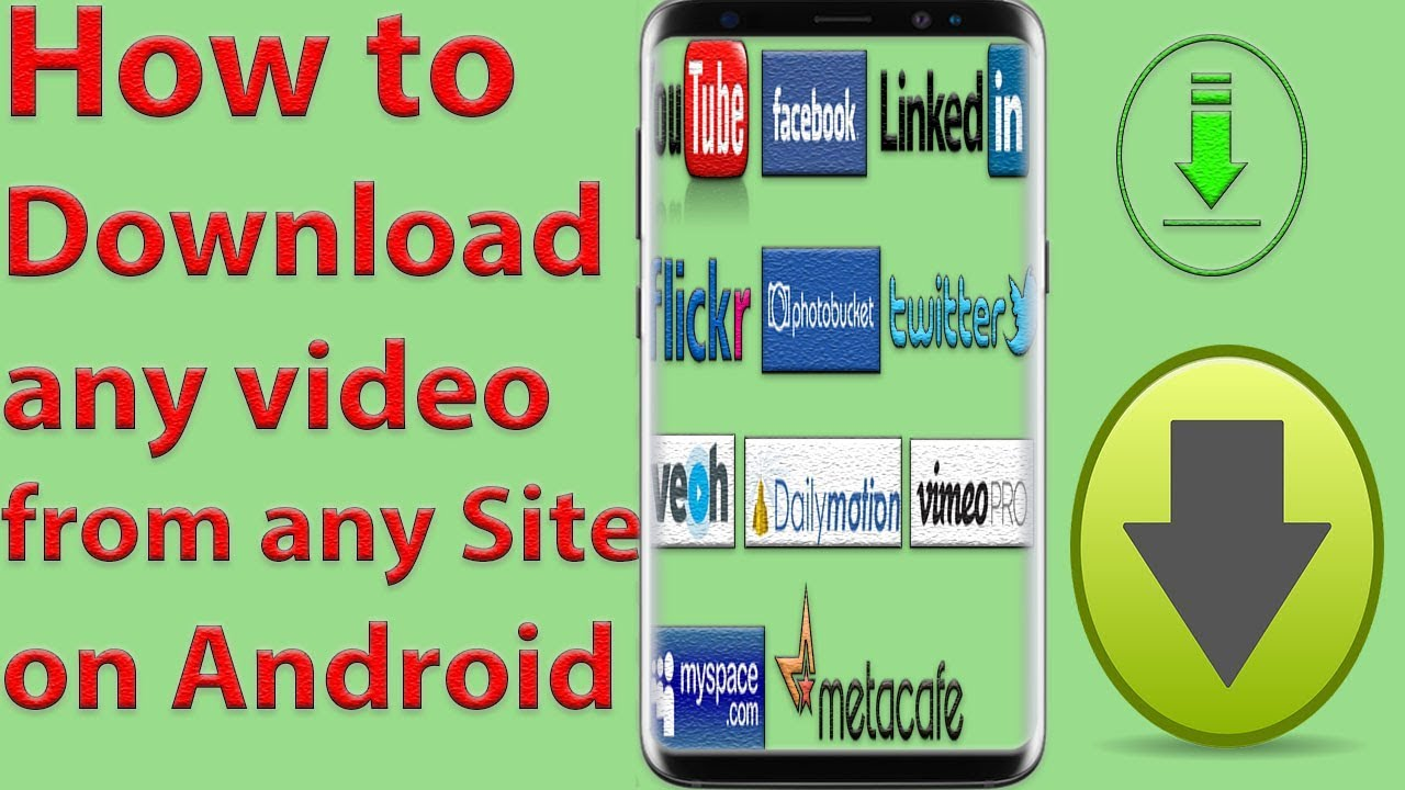 Download any video from any website free!!!! Youtube.