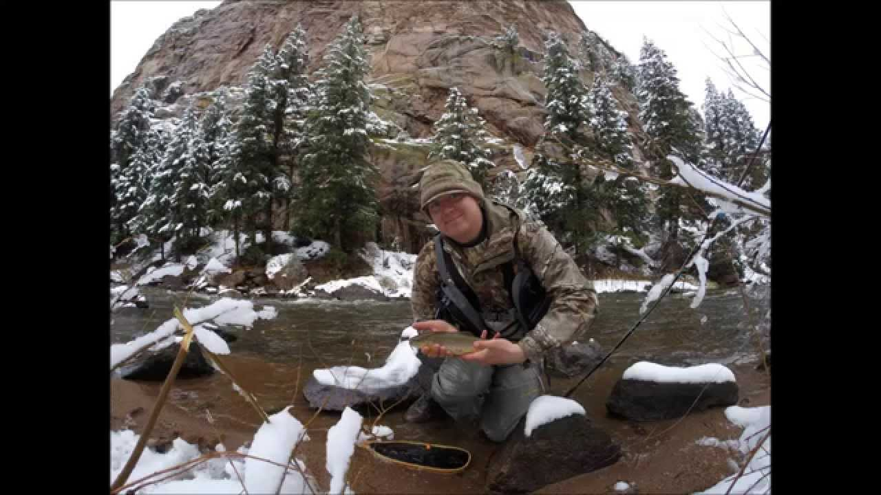South platte river fishing trip deckers co youtube for Deckers co fishing report