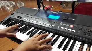 """""""JESUS SECÓ MIS LÁGRIMAS"""", EN PIANO."""